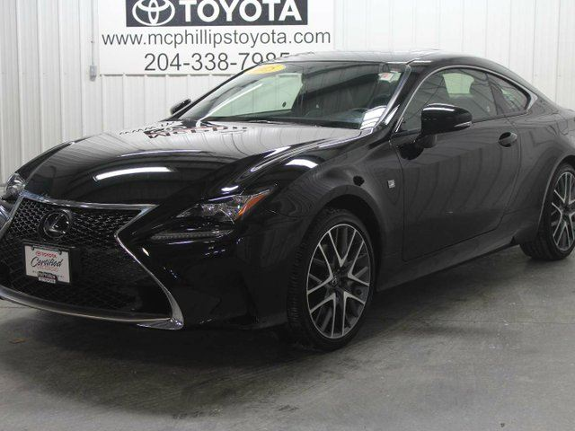 2015 LEXUS RC 350 Base in Winnipeg, Manitoba