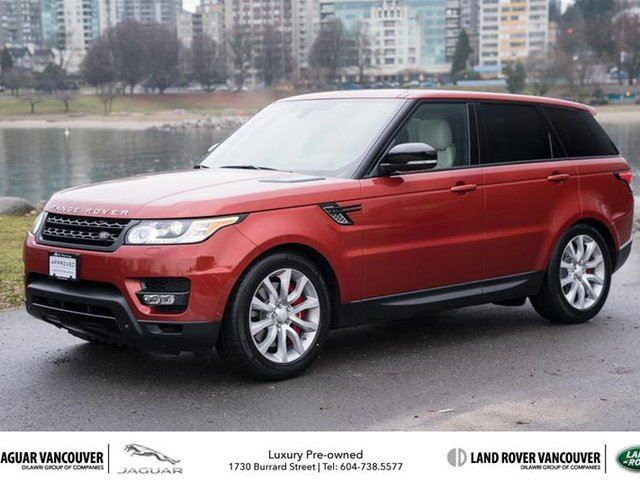 2014 LAND ROVER RANGE ROVER Sport V8 Supercharged Dynamic in Vancouver, British Columbia