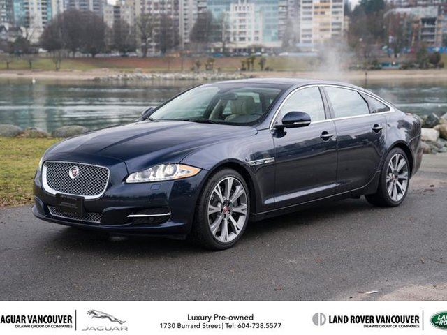 2014 JAGUAR XJ SERIES XJ 5.0L Supercharged in Vancouver, British Columbia