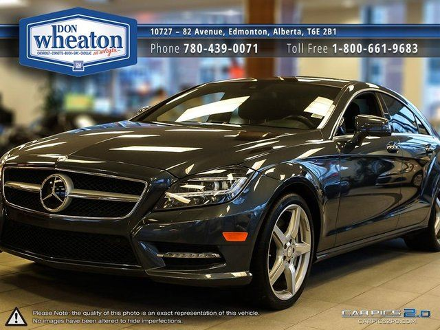 2012 MERCEDES-BENZ CLS-CLASS CLS550 4MATIC 4.7 V8 TURBO in Edmonton, Alberta