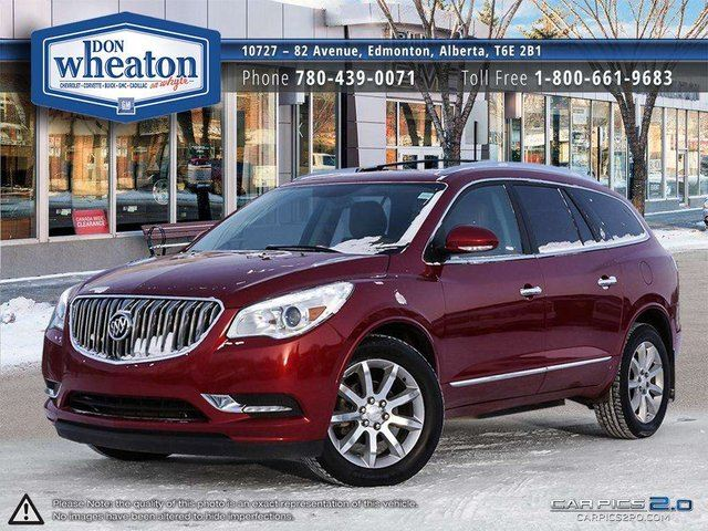 2013 BUICK ENCLAVE PREMIUM AWD 7 PASSENGER ONE OWNER LOADED in Edmonton, Alberta