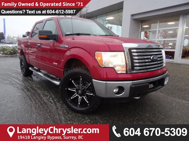 2012 FORD F-150 XLT *ONE OWNER*LOCAL BC TRUCK* in Surrey, British Columbia