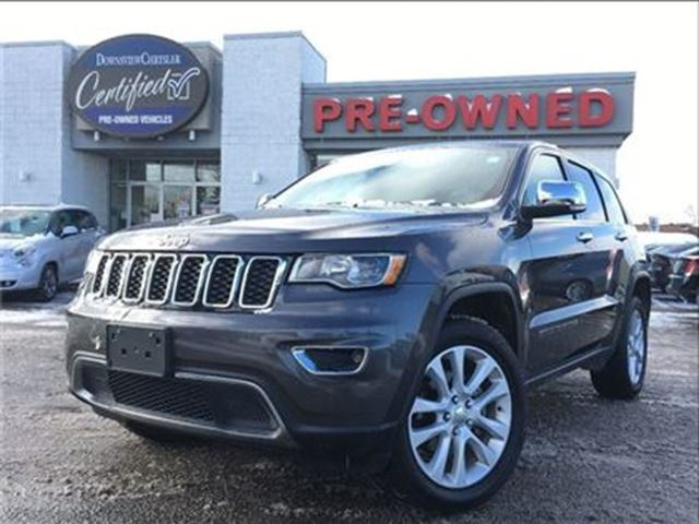2017 JEEP Grand Cherokee Limited..   NAVIGATION   SUNROOF \ HTD SEATS in Toronto, Ontario