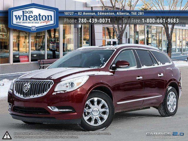 2017 BUICK ENCLAVE LEATHER ALL WHEEL DRIVE REMOTE START in Edmonton, Alberta
