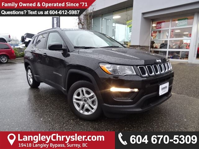 2017 JEEP COMPASS Sport *ACCIDENT FREE*ONE OWNER*LOCAL BC JEEP* in Surrey, British Columbia