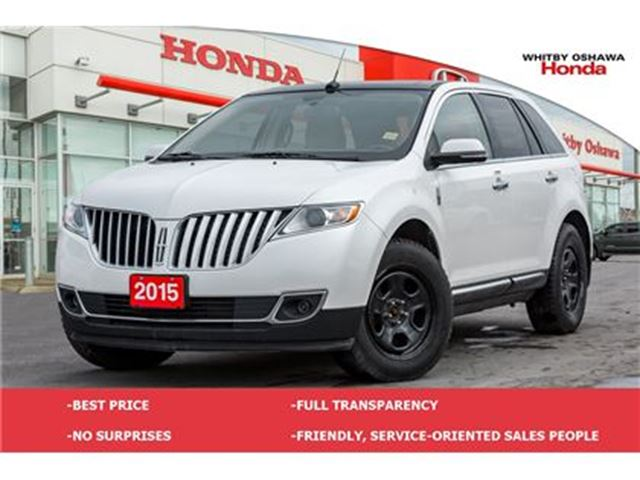 2015 LINCOLN MKX Base   Automatic in Whitby, Ontario