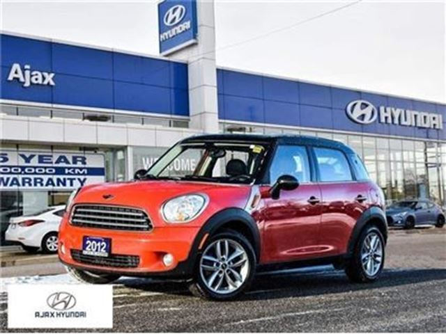 2012 MINI COOPER Countryman Base (M6) in Ajax, Ontario
