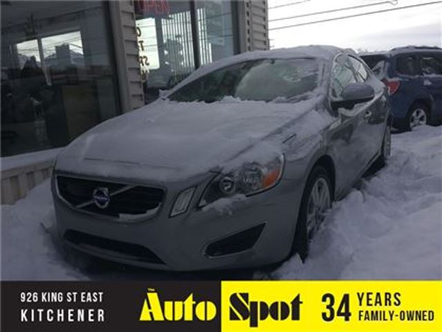 2013 VOLVO S60 T6/OW KMS/VERY SOUGHT AFTER/PRICED -QUICK SALE in Kitchener, Ontario