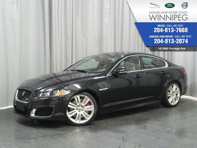 2012 JAGUAR XF XFR *THIS MEANS SUPERCHARGED* *WINTER TIRE PKG* in Winnipeg, Manitoba