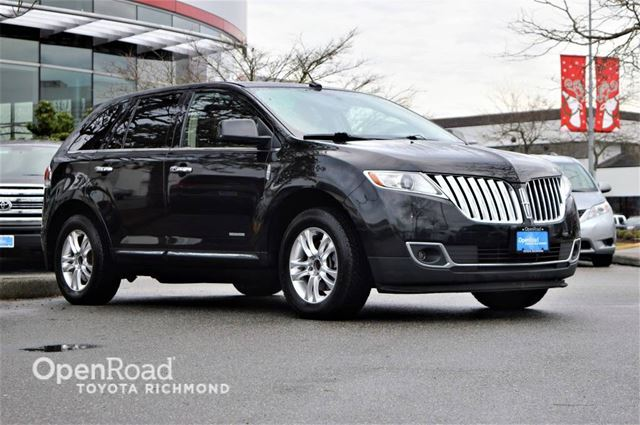 2011 LINCOLN MKX Navigation, leather, back-up camera, keyless en in Richmond, British Columbia