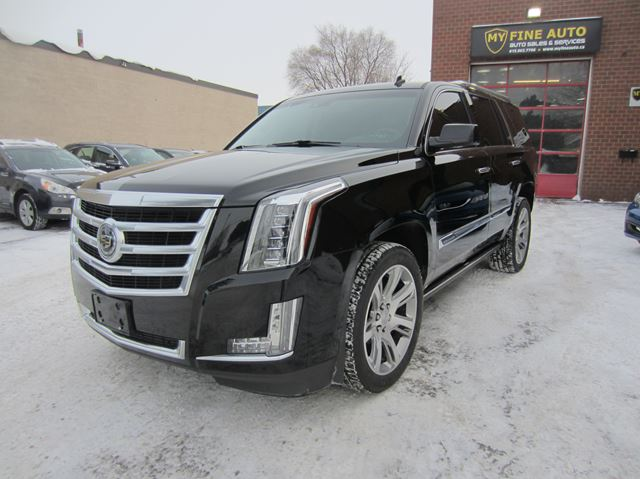 2015 CADILLAC ESCALADE PREMIUM PACK / NAVI / ONE OWNER in Ottawa, Ontario