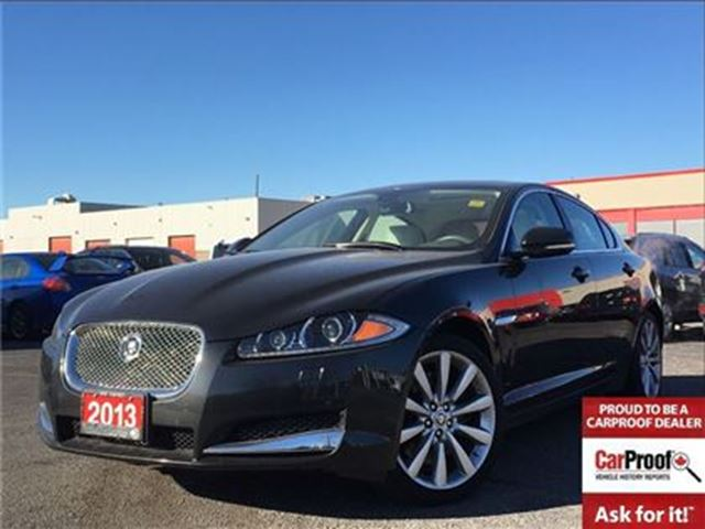 2013 JAGUAR XF 3.0L**AWD**LEATHER**NAVIGATION**SUNROOF** in Mississauga, Ontario