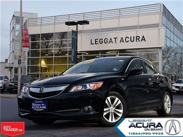 2013 ACURA ILX HYBRID   NAVI   2.9%   LEATHER   HTDSEATS   1OWNER in Burlington, Ontario