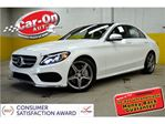 2016 Mercedes-Benz C-Class C300 4MATIC NAVI LEATHER PANO ROOF LOADED in Ottawa, Ontario