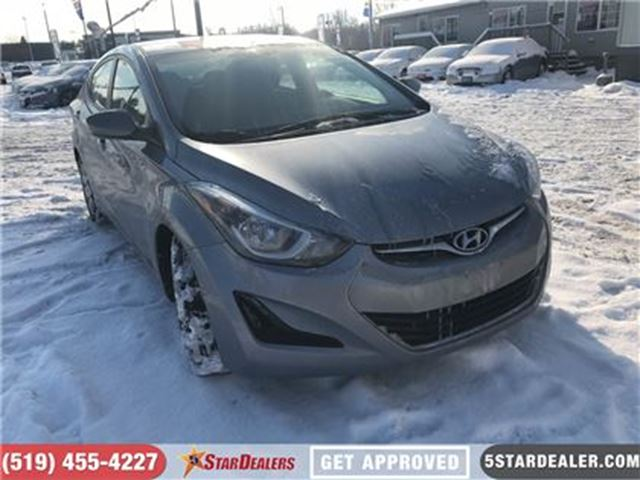 2016 HYUNDAI ELANTRA GL   ONE OWNER   HEATED SEATS in London, Ontario