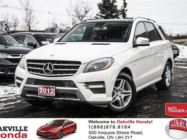 2012 MERCEDES-BENZ M-CLASS BlueTEC 4MATIC in Oakville, Ontario