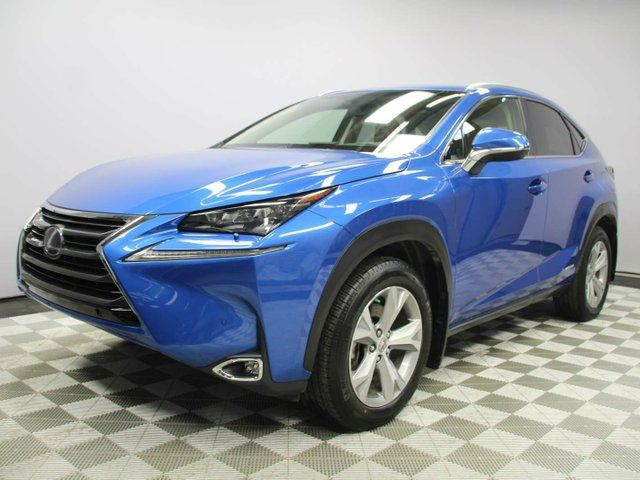 2017 LEXUS NX 300H n++Executive - Local One Owner Trade In | No Accidents | 3M Protection Applied | Leather Heated/Cooled Seats | Heated Steering Wheel | Navigation | Back Up Camera | Parking Sensors | Power Sunroof | Power Liftgate | Dual Zone Climate Control with AC  in Edmonton, Alberta