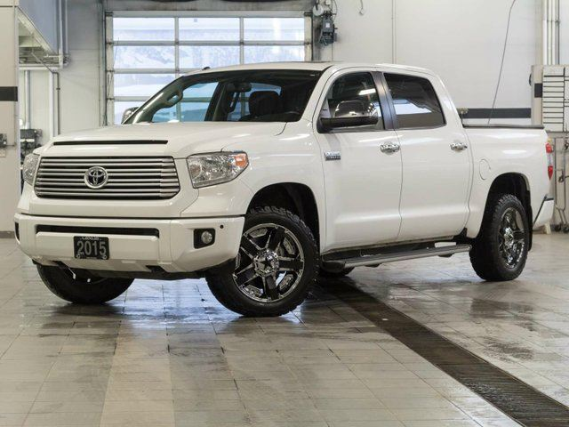 2015 TOYOTA TUNDRA Platinum Crewmax w/ Fuel Wheel Package in Kelowna, British Columbia