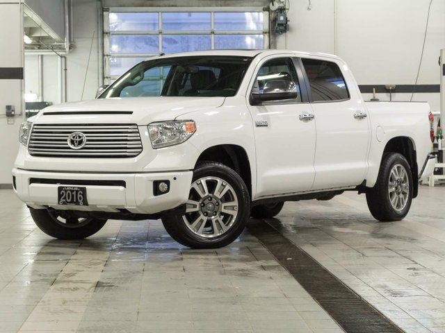 2016 TOYOTA TUNDRA Platinum Crewmax w/Navigation in Kelowna, British Columbia