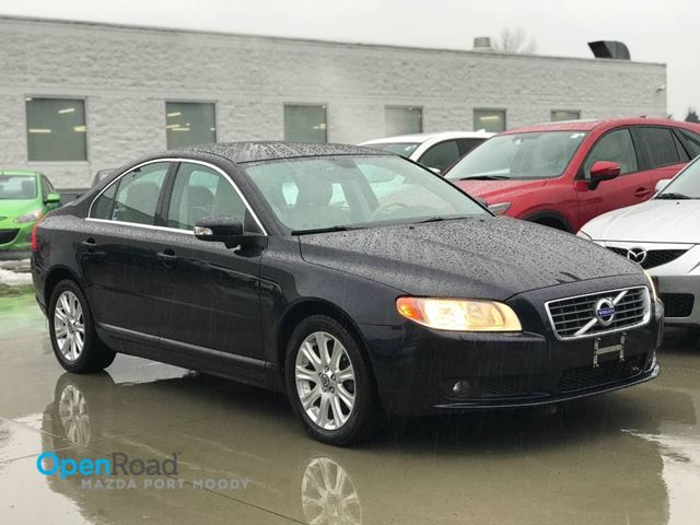 2011 VOLVO S80 FWD A/T Blueooth AUX Leather Sunroof Cruise Con in Port Moody, British Columbia