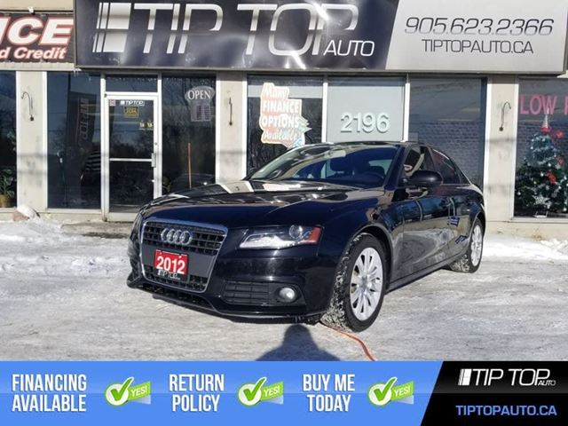2012 AUDI A4 2.0T ** All Wheel Drive, Sunroof, Leather ** in Bowmanville, Ontario