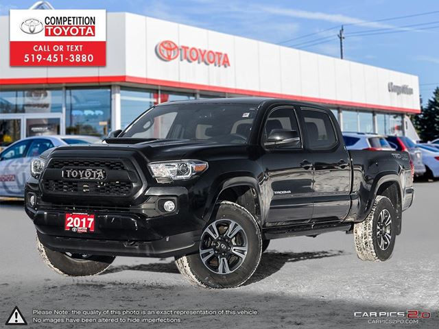 2017 TOYOTA Tacoma SR5 Toyota Certified, One Owner, No Accidents, Toyota Serviced in London, Ontario