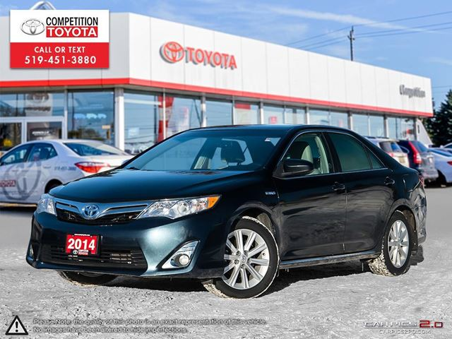 2014 TOYOTA Camry Hybrid XLE One Owner, Toyota Serviced in London, Ontario