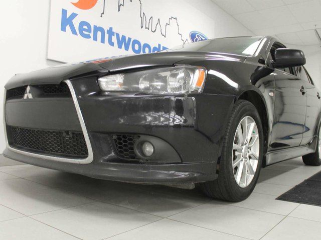 2014 MITSUBISHI LANCER SE- heated leather seats, sunroof and a huge hatch with plenty of room in Edmonton, Alberta