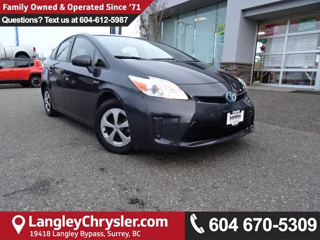 2014 TOYOTA Prius Base in Surrey, British Columbia