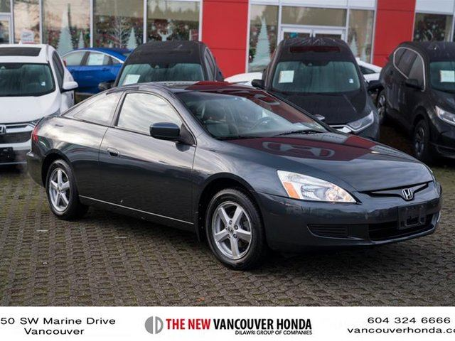 2004 honda accord cpe ex l v6 at vancouver british columbia car for sale 2959631. Black Bedroom Furniture Sets. Home Design Ideas