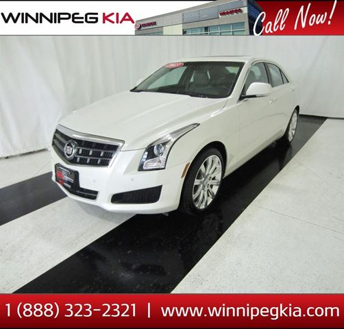 2013 CADILLAC ATS Luxury in Winnipeg, Manitoba