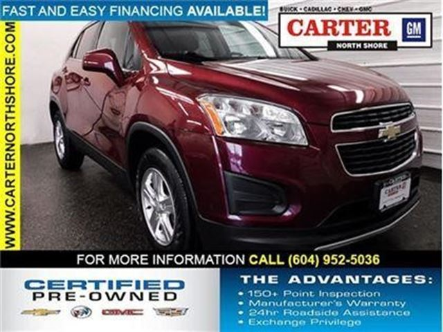 2013 CHEVROLET TRAX LT in North Vancouver, British Columbia
