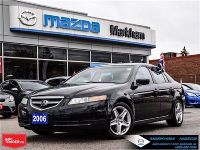 2006 ACURA TL Base ACCIDENT FREE LEATHER MROOF in Markham, Ontario