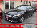 2015 Mercedes-Benz C-Class C300 4-MATIC AMG PKG. NAVIGATION PANO ROOF in Toronto, Ontario