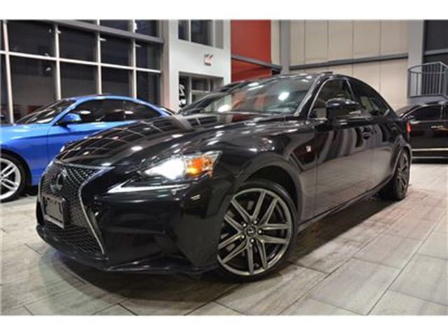 2014 LEXUS IS 350 F-Sport Series 3 With Only 51.756 Kms! in Oakville, Ontario
