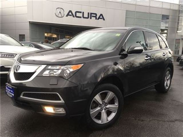 2013 ACURA MDX BASE   LEATHER   1OWNER   7PASS   300HP   SUNROOF in Burlington, Ontario
