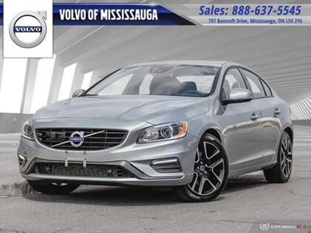 2018 VOLVO S60 T6 AWD Dynamic 1-888-792-5969 for more details in Mississauga, Ontario