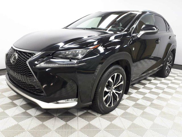 2015 LEXUS NX 200T F Sport Series 3 - Local One Owner Trade In | No Accidents | 3M Protection Applied | Leather Heated Seats | Heated Steering Wheel | Navigation | Back Up Camera | Parking Sensors | Power Sunroof | Power Liftgate | Dual Zone Climate Control with AC | H in Edmonton, Alberta
