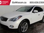 2014 Infiniti QX50 NAVIGATION, SUNROOF, PUSH BUTTON, LOW KMS, ONE OWNER! in Edmonton, Alberta