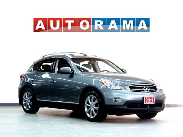 2011 INFINITI EX35 LEATHER SUNROOF 4WD BACKUP CAMERA in North York, Ontario