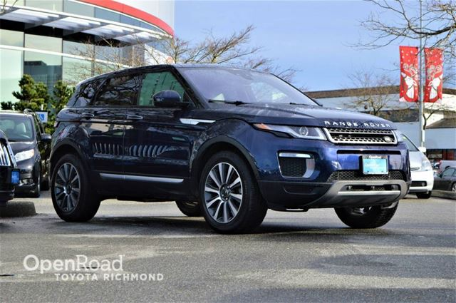 2017 LAND ROVER RANGE ROVER EVOQUE HSE, Panoramic sunroof, Navigation, push button in Richmond, British Columbia