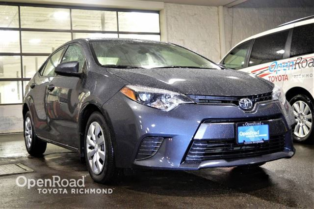 2015 TOYOTA Corolla LE, JUST ARRIVED! in Richmond, British Columbia