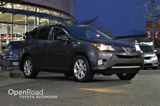 2015 TOYOTA RAV4 GPS navigation, Softex leather seats, heated fr in Richmond, British Columbia