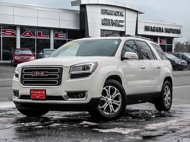 2014 GMC ACADIA SLT-1 AWD  ** ONE OWNER!! Purchased, Serviced A in Virgil, Ontario