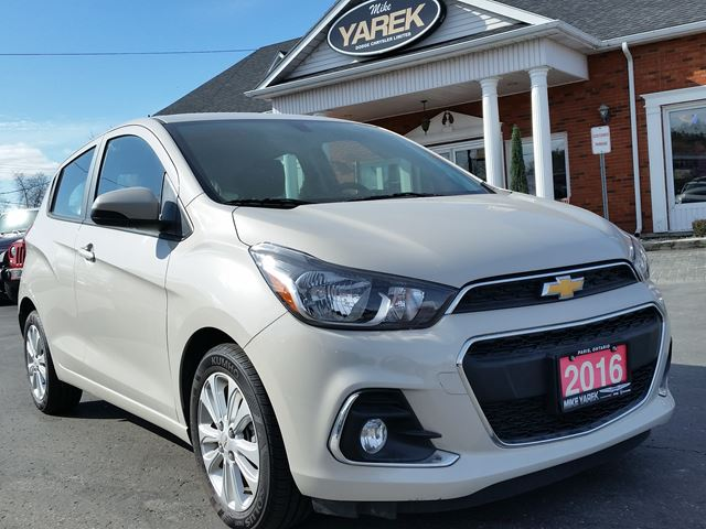 2016 Chevrolet Spark LT, Bluetooth, Satellite Radio, Back Up Cam, Like New!! in Paris, Ontario