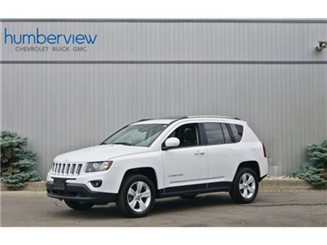 2016 JEEP Compass Sport/North 4WD  SUNROOF HEATED LEATHER in Toronto, Ontario