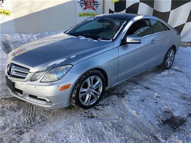 2010 MERCEDES-BENZ E-CLASS 350, Navigation, Leather, Sunroof, in Burlington, Ontario