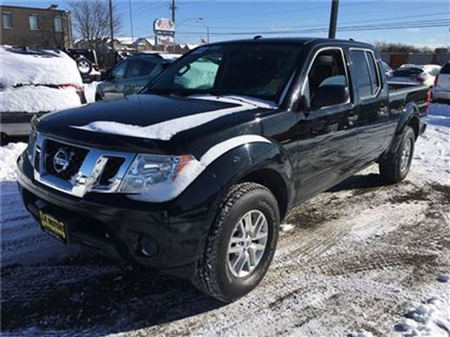 2015 NISSAN FRONTIER SV, Crew Cab, Automatic, Tow Package, 4x4 in Burlington, Ontario
