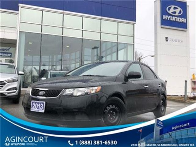 2013 KIA Forte 2.0L EX/HEATED SEATS/BLUETOOTH/ONLY 53685KMS in Toronto, Ontario