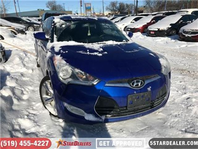 2012 HYUNDAI VELOSTER Tech   NAV   ROOF   LEATHER   CAM in London, Ontario